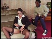Jacking a cock and fucking a cock