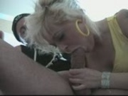 Blonde loves to go down