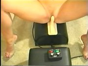 Blond on sex toy part 4 of 5