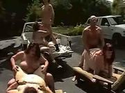 Outdoor orgy fat girls bbw