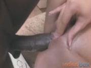 Hot Round Ass Shagged By Big Black Dude