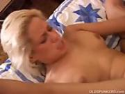 30 something sexy blonde MILF Alex is a hot little fuck.flv