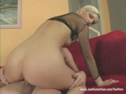 Amazing blond fucked hard