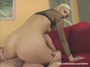 Amazing blond fucked hard
