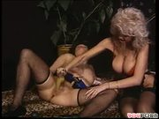 Old German women toying and fisting