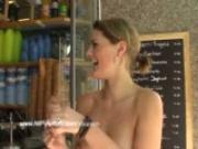 public nudity with amazing hot maria