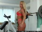 Working Out With Silvia Saint