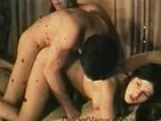 Vintage Porn 1960s - Retro Hairy Teens Threesome