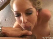 Cock in cheek instead of tongue (clip)