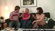 My wife is asked me to fuck her mom