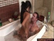 Lexi Diamond Perfect Body Is All Soaped Up
