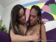 Lacey Duvalle Pussy Licked By Black Babe