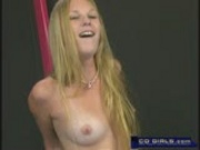 Lucy trys out the sybian fucking machine