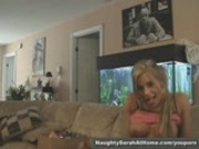 Naughty Sarah play with huge toys part1of2