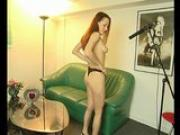 Hot brunette on the casting couch - Julia Reaves