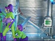 Green purple people eater PT.3