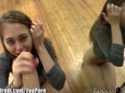 RoccoSiffredi Riley Reid Sucks Huge Cock for POV Cam