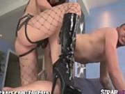 StrapAttackers Roxy Jezel Anal Fingers and Pegs her Horny Bitch