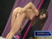 Lyndsey on the sybian and monkey rocker 