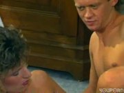 Retro babe pounded in vintage scene - Sascha Production