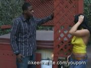 Black Guy Nails Wild Brunette Girl