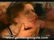 Girls Gagging and Drinking Sperm 