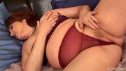 Horny and chubby mature Morgianna - Trion Media