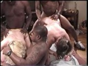 White girls fucked in the ass blowing black guys pt 1/2