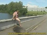 Olga on the bridge