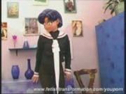 Naked nylon Manga Girl Monika