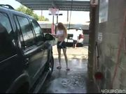 Self car wash=$3.00 Flashing included