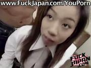 Japanese hottie Fucks asian