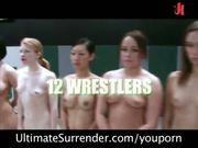 Royal Madness: 12 girls wrestle to 1 gangbang