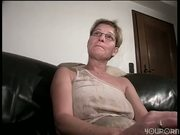 Grandma makes herself cum