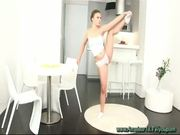 young flexible gymnast sex