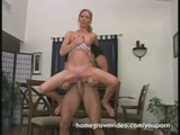 Amateur Swallows And Rides A Big Cock 
