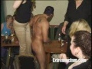 Mature women, young amateurs go wild at CFNM party
