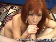 Desperately sucking Suzanne