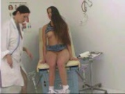 Nurse can't wait to pull her patient's white panties aside - Pt. 1/4