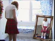Soroity girl gets clean before she fucks (clip)