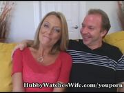 Hot Wife Getting Fed Young Cock