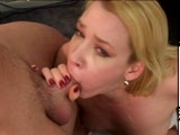 Olivia Saint blows perspective employee