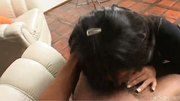 Latina Tgirl gets a black load - Latin-Hot
