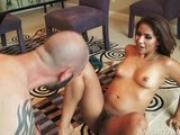 Mature Latina Fucked In Her Hairy Vagina