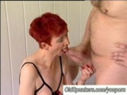 Granny hardcore fuck session