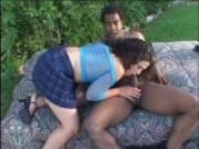 Ass-To-Mouth Outdoor Fucking