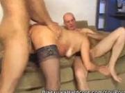 Ribeiro, Matteo And Pegy Hot Bisexual Threesome Feat