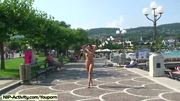 Spectacular Public Nudity With Sweet Alena