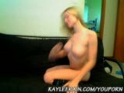 Kaylee Rain in Knee High Stockings