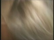 Blonde in blue blows beau 2/3